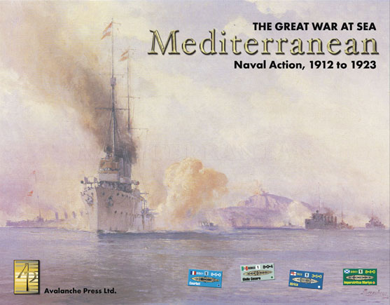 Great War At Sea: The Mediterranean, 2nd Edition