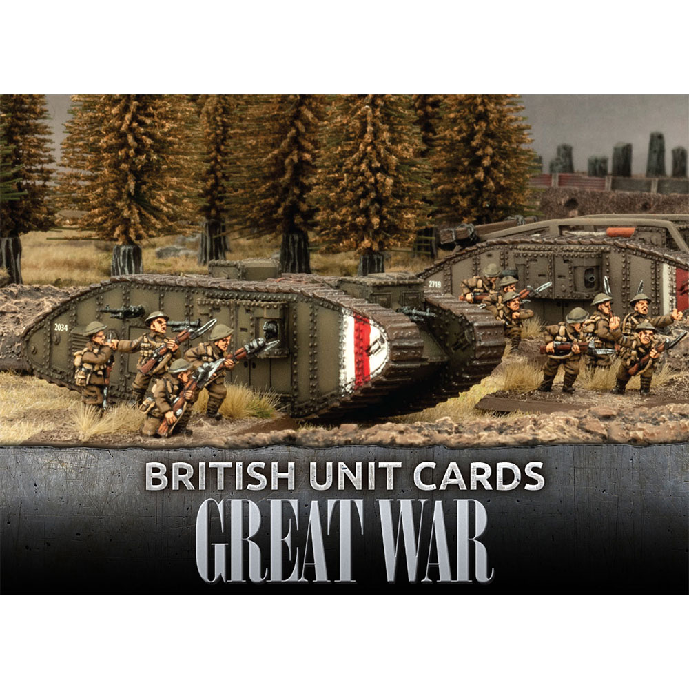 Great War: British: British Unit Cards