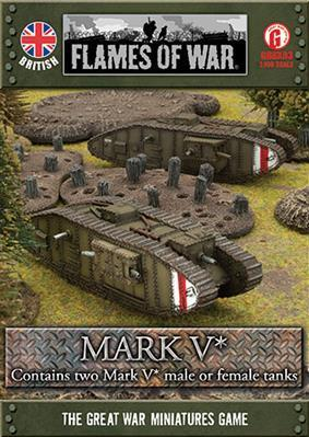 Great War: British: Mark V*
