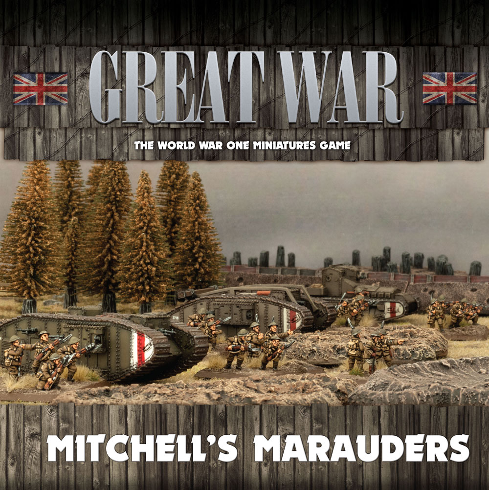 Great War: British: Mitchells Marauders