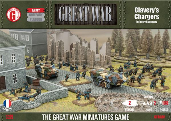 Great War: French: Claverys Chargers