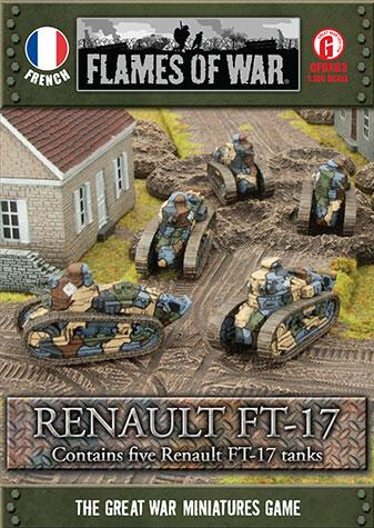 Great War: French: Renault FT-17