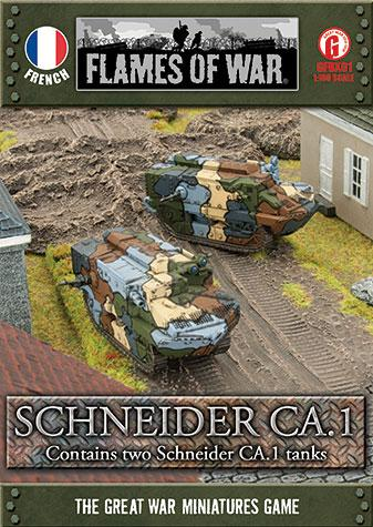 Great War: French: Schneider CA.1