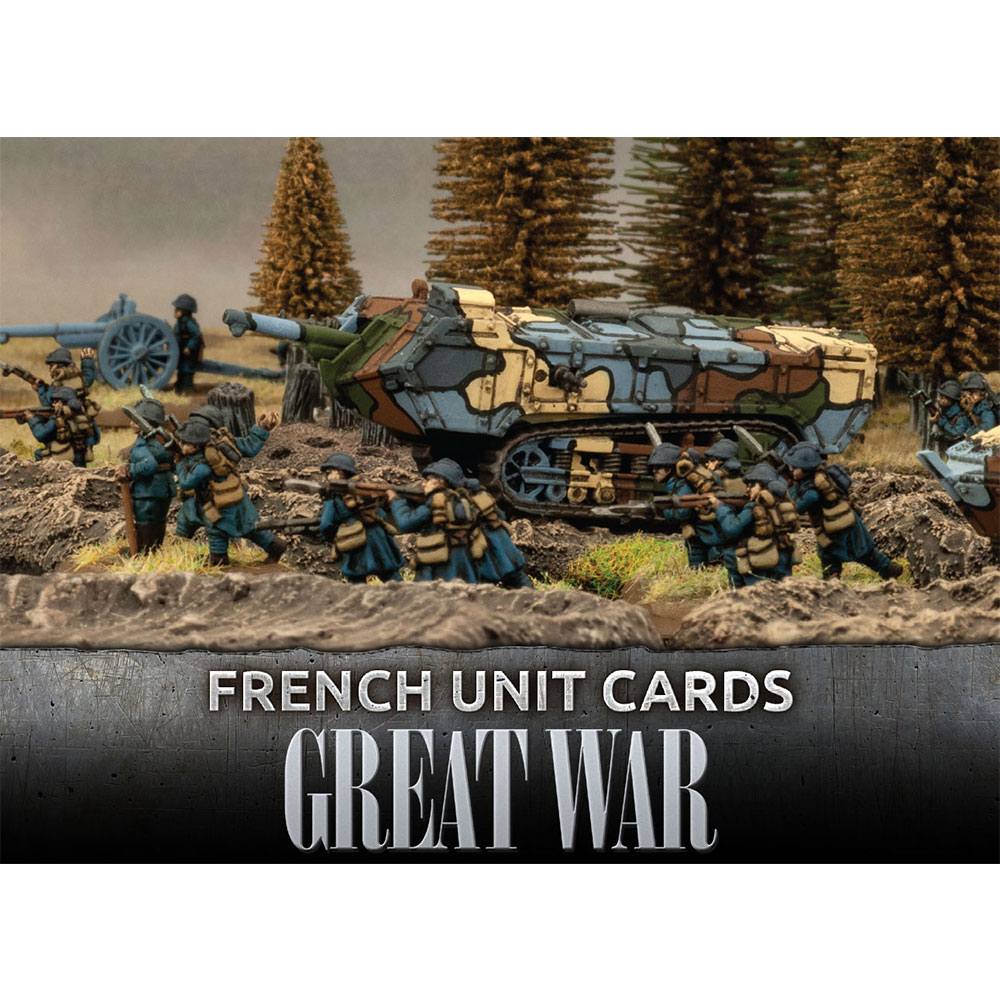 Great War: French: Unit Cards