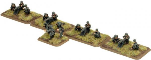 Great War: German: Infanterie Machine-gun Platoon