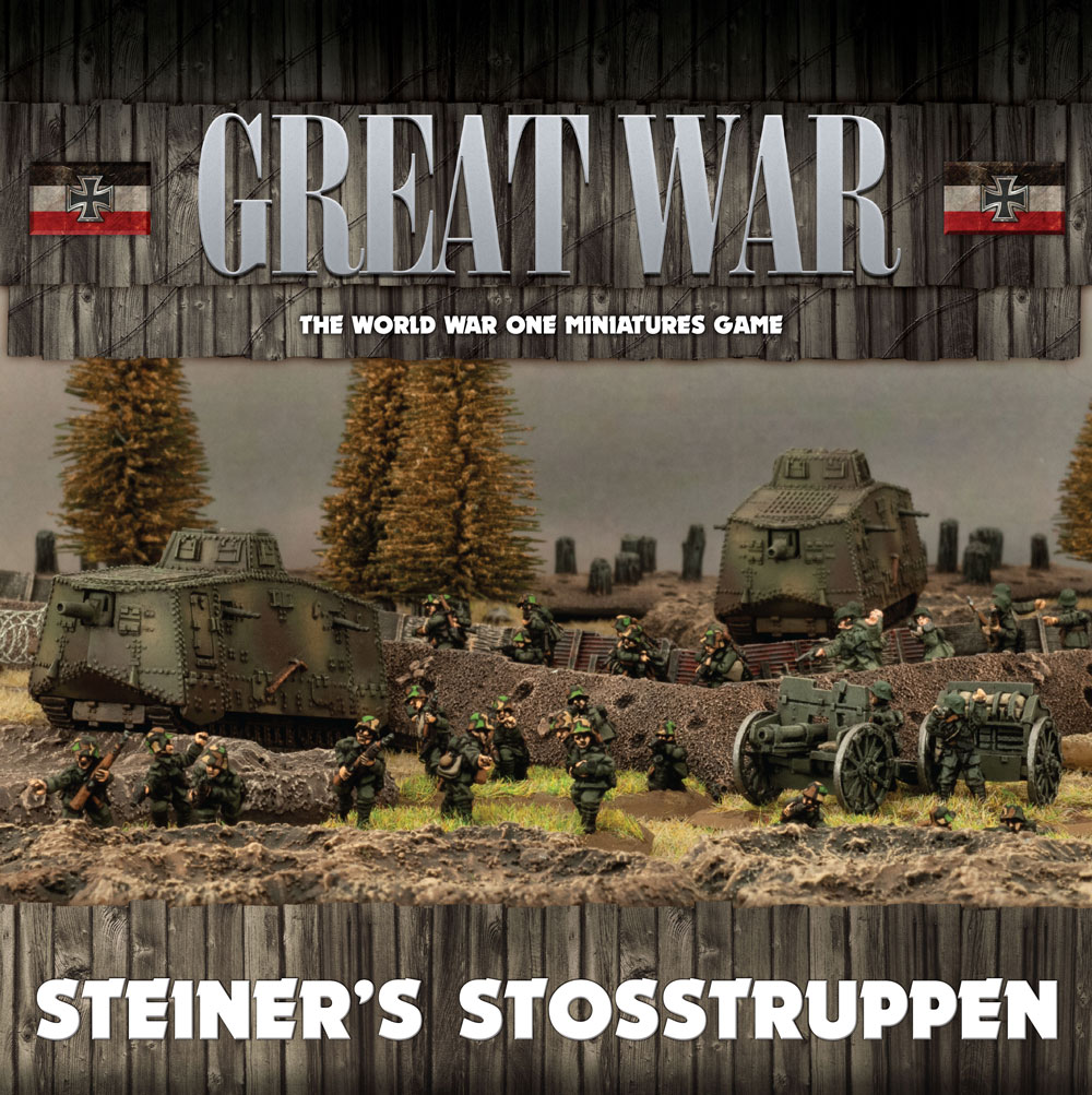 Great War: German: Steiners Stosstruppen