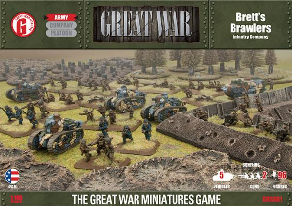 Great War: USA: Bretts Brawlers