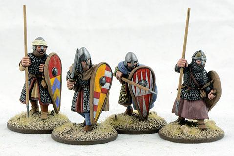 Gripping Beast 28mm Early Crusade: Dismounted Knights #3 (4)