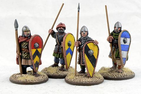 Gripping Beast 28mm Early Crusade: Dismounted Knights #4 (4)