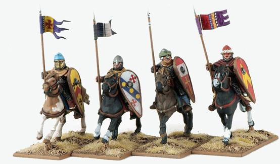 Gripping Beast 28mm Early Crusade: Mounted Knights #1 (4)