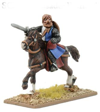 Gripping Beast 28mm Early Crusade: Mounted Warlord (1)