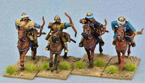 Gripping Beast 28mm Early Crusade: Turcopoles (4)