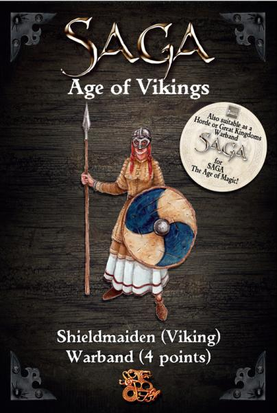 Gripping Beast 28mm Viking Age: Shieldmaiden- Warband (4 Points)