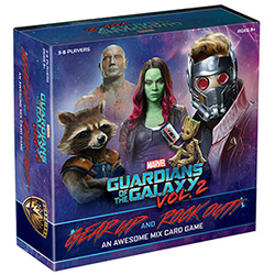 Guardians of the Galaxy 2- Gear Up and Rock Out! An Awesome Mix Card Game
