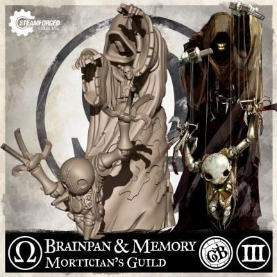 GuildBall: Mortician: Brainpan & Memory