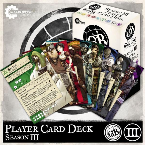 GuildBall: Player Card Deck (Season 3)