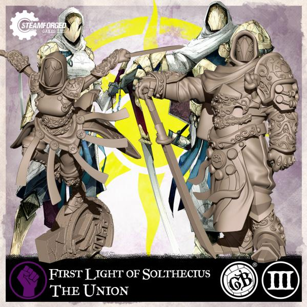 GuildBall: Union: First Light of Solthecius