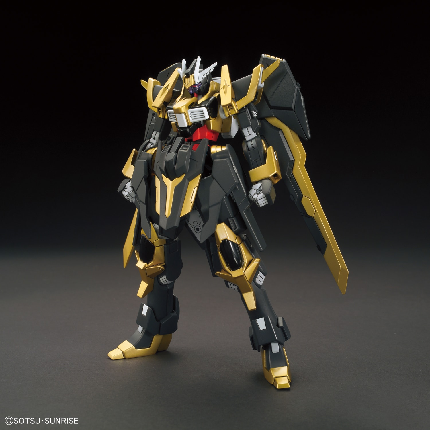 Gundam High Grade Build Fighters (1/144): #55 Gundam Schwarzritter