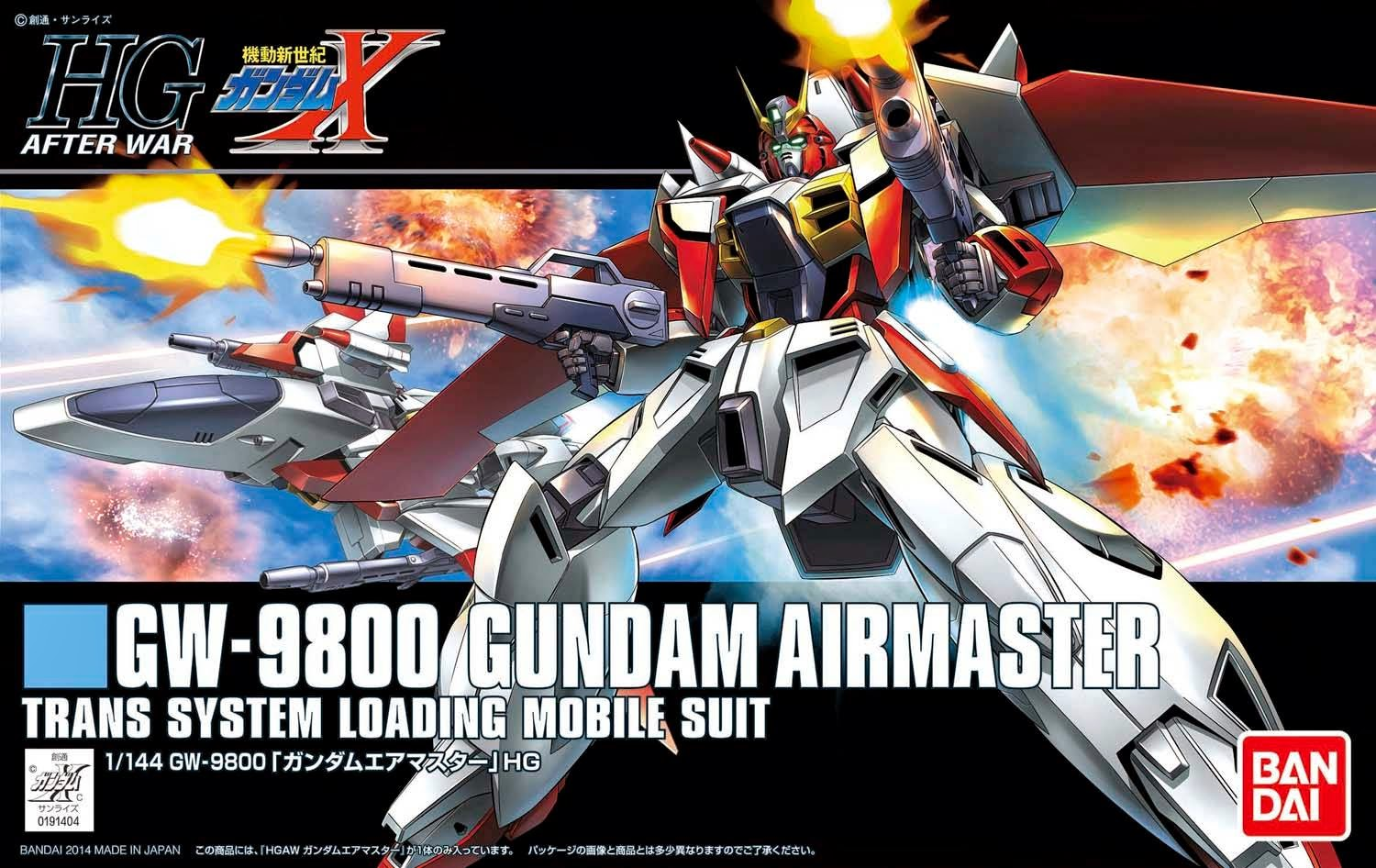 Gundam High Grade After War (1/144): GW-9800 Gundam Airmaster