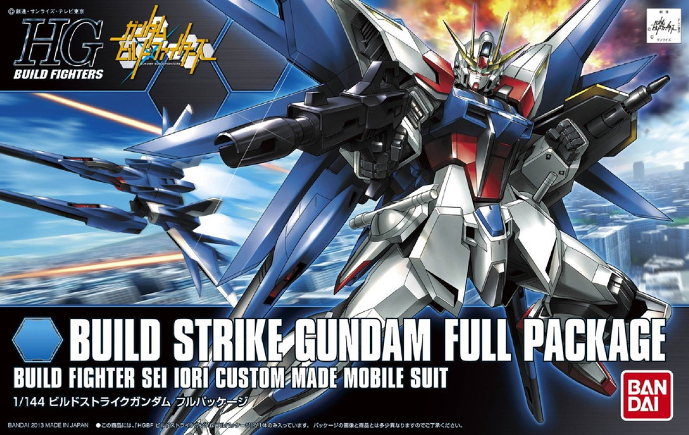 Gundam High Grade Build Fighters (1/144): #01 Build Strike Gundam Full Package