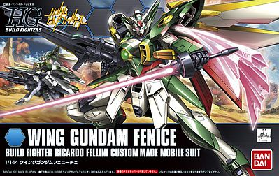Gundam High Grade Build Fighters (1/144): #06 Wing Gundam Fenice