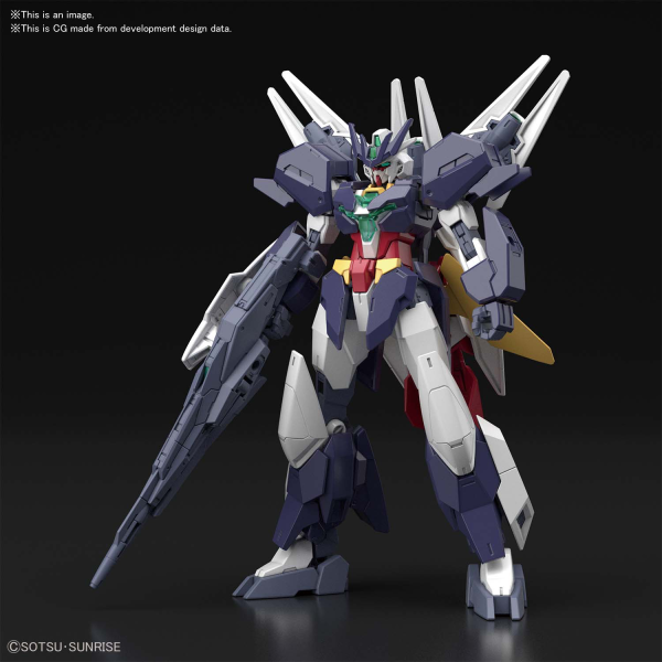 Gundam High Grade (HG) Build Divers Re:RIse (1/144): #023 URAVEN GUNDAM