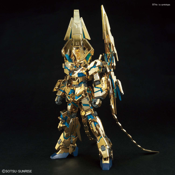 Gundam High Grade Universal Century #003: PHENEX (DESTROY MODE) (NARRATIVE Ver.) [GOLD COATING]
