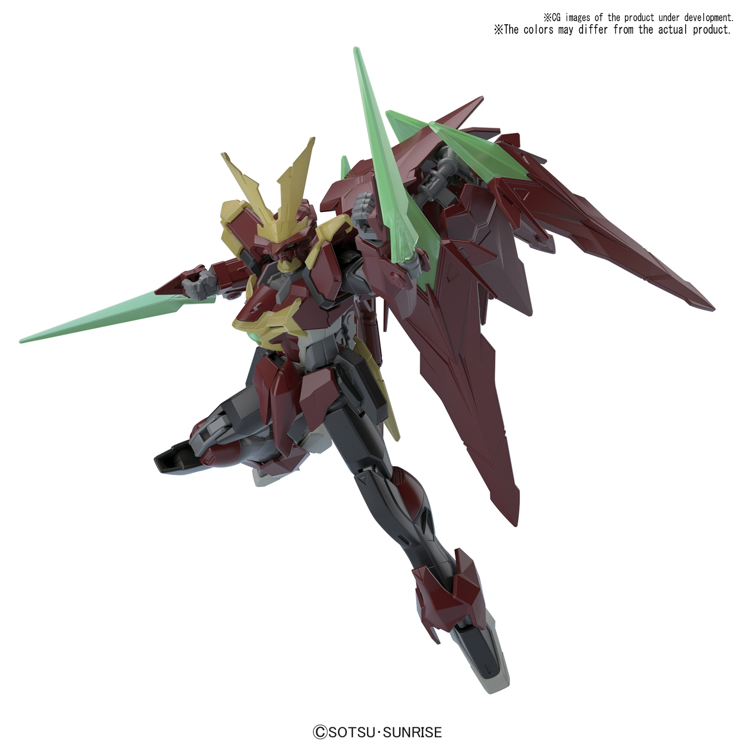 Gundam High Grade Build Fighters (1/144): Ninpulse Gundam