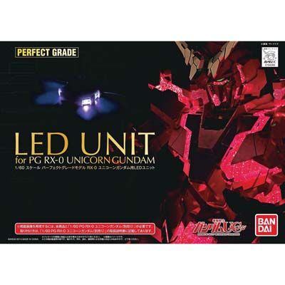 Gundam Perfect Grade: LED Unit for PG RX-0 Unicorn Gundam