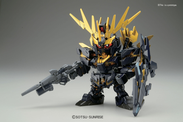 Gundam SD Build Fighters: BB391 Banshee Norn