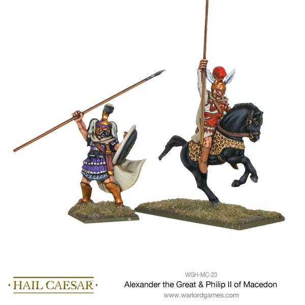 Hail Caesar: Macedonian: Alexander the Great & Philip II of Macedon