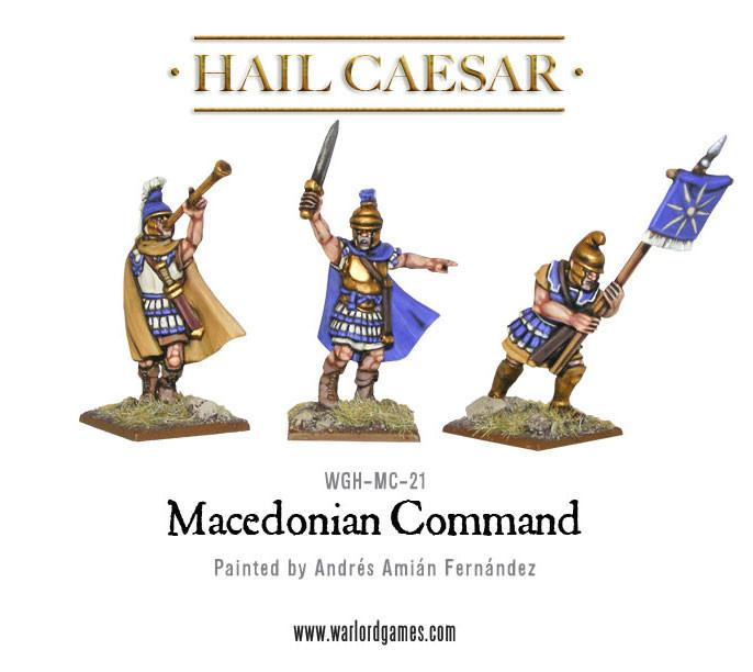 Hail Caesar: Macedonian: Command