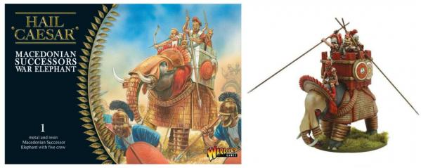 Hail Caesar: Macedonian: Successors War Elephant
