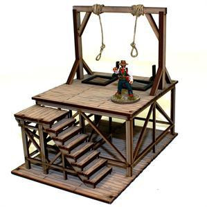 4Ground Miniatures: 28mm Dead Mans Hand: Hangmans Gallows