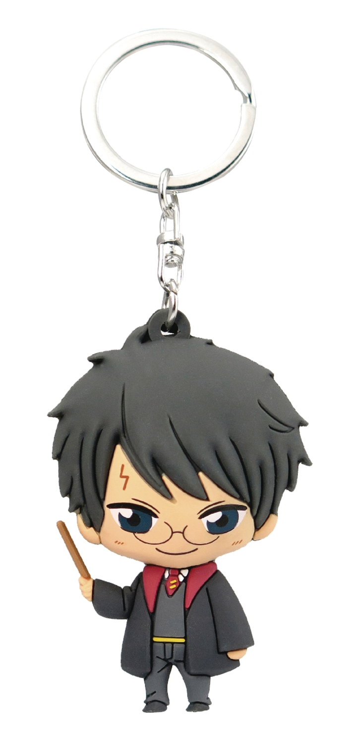 Harry Potter Kawaii Soft Touch PVC Figural Keyring: Harry
