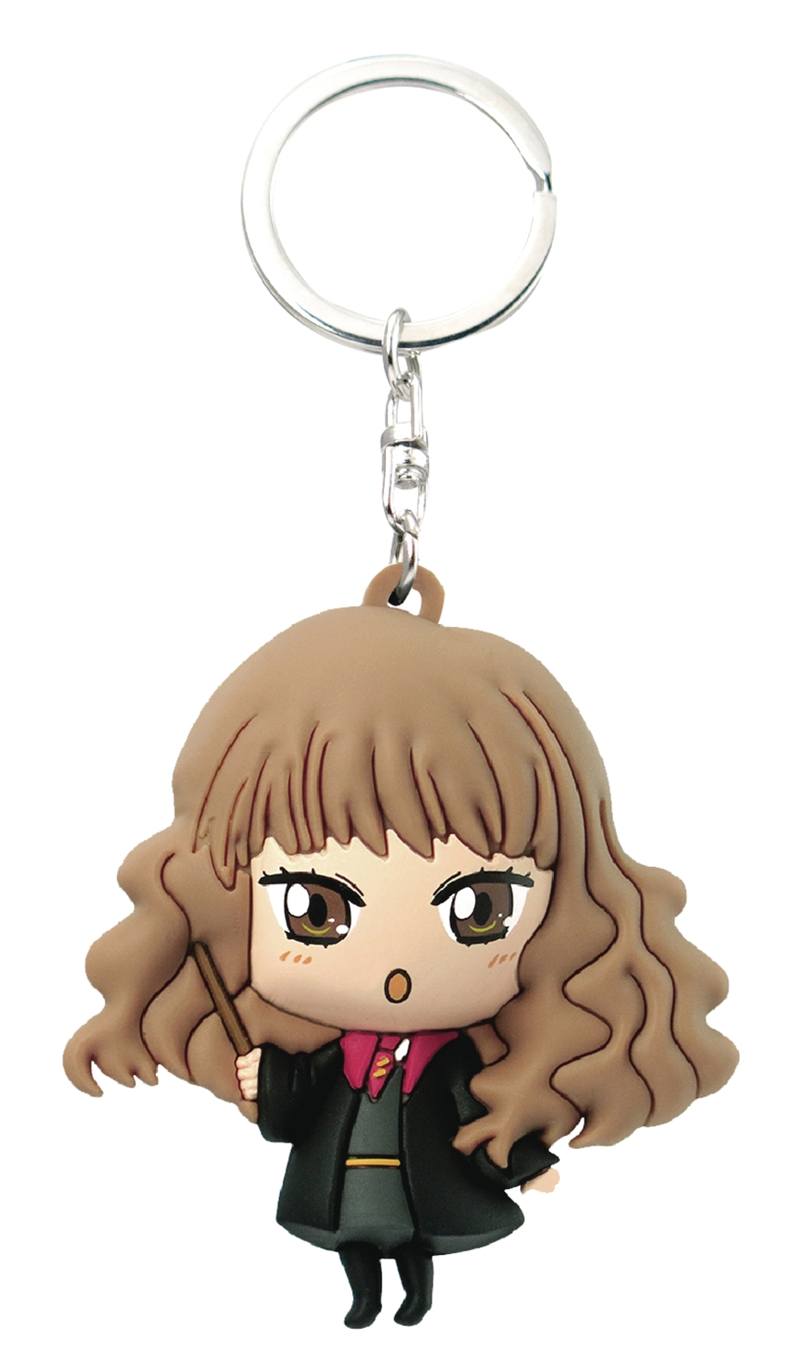 Harry Potter Kawaii Soft Touch PVC Figural Keyring: Hermione