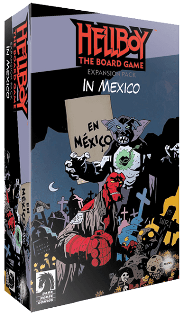 Hellboy The Board Game: In Mexico Expansion