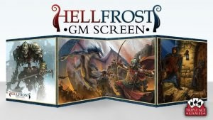 Hellfrost: GM Screen with Adventure