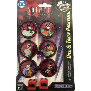 Heroclix: Batman: The Animated Series Dice & Tokens