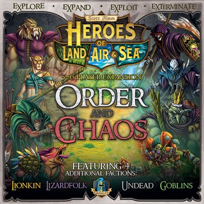 Heroes of Land Air and Sea - Expansion Order Chaos