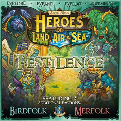 Heroes of Land Air and Sea - Expansion Pestilence