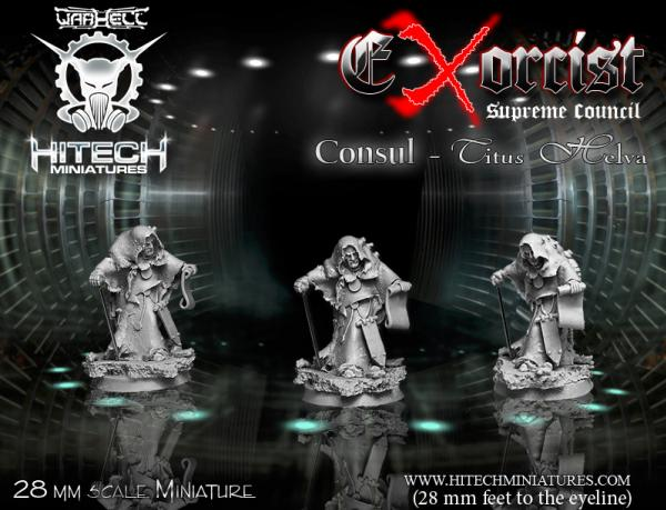 Warhell: Exorcist- Supreme Council Consul Titus Helva