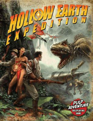 Hollow Earth Expedition: Core Rulebook [6 x 9 Size]