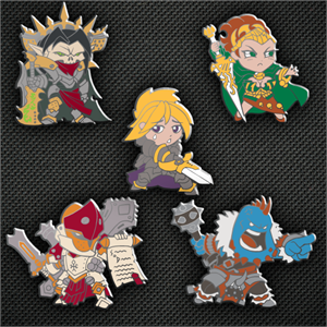 Hordes: Chibi Borka Kegslayer Pin
