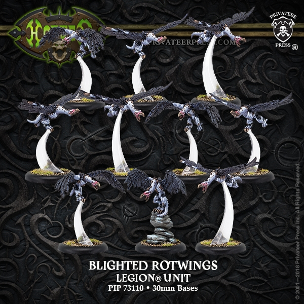 Hordes: Legion of Everblight (73110): Blighted Rotwings