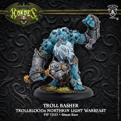 Hordes: Trollbloods (71113): Troll Basher - Trollblood Light Warbeast