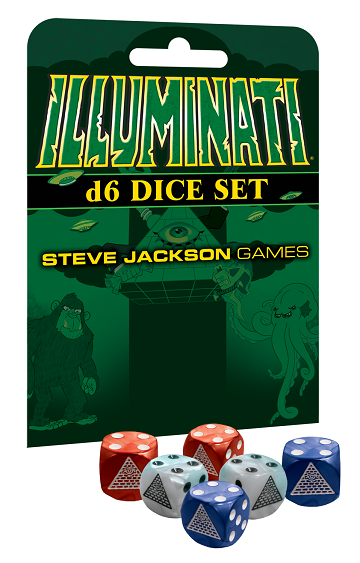 Illuminati The Board Game: D6 Dice Set