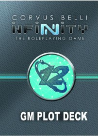 Infinity The Roleplaying Game: GM Plot Deck