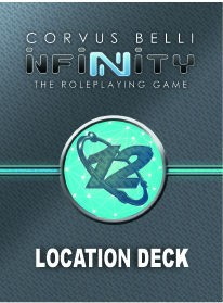Infinity The Roleplaying Game: Location Deck