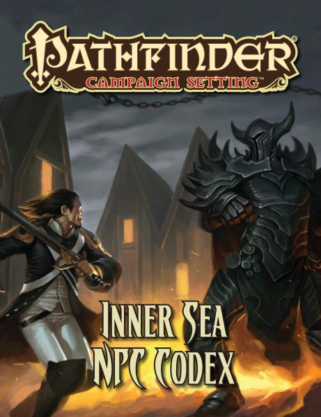 Pathfinder: Campaign Setting: Inner Sea NPC Codex [SALE]